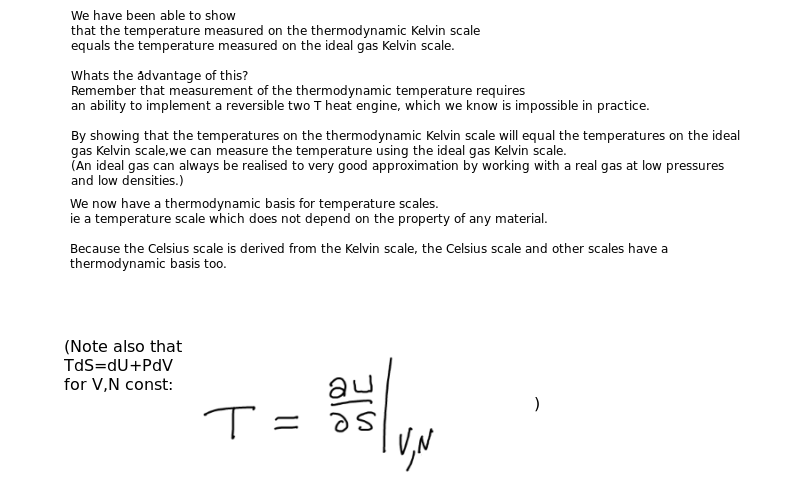 Thermodynamic Kelvin temperature = Ideal gas Kelvin ...